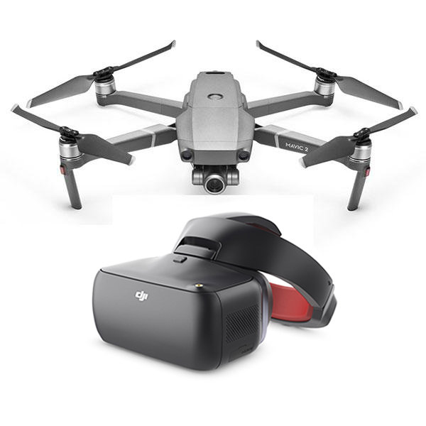 Квадрокоптер Mavic 2 Zoom + DJI Goggles RE